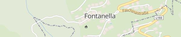 Karte Hotel Das Schäfer Fontanella