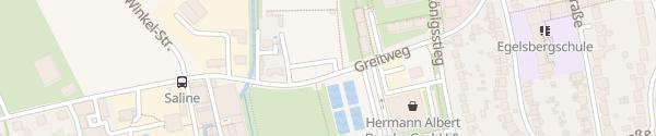 Karte Sportanlagen Greitweg Göttingen