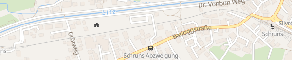 Karte Haus Montafon Schruns