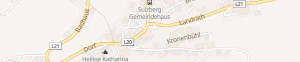 Karte Gasthof Alpenblick Sulzberg