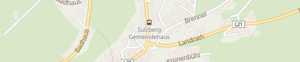 Karte Gemeindeamt Sulzberg
