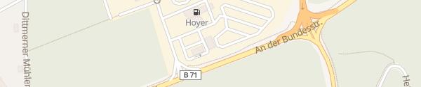 Karte Hoyer Autohof Soltauer Heide Soltau