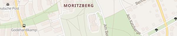 Karte Parkhotel Berghölzchen Hildesheim