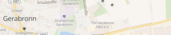 Karte ZOB Gerabronn