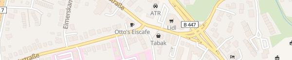 Karte Schnellladesäule Frohmestraße Hamburg