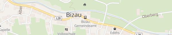 Karte Gemeindeamt Bizau