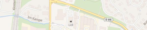 Karte Lidl Nörten-Hardenberg