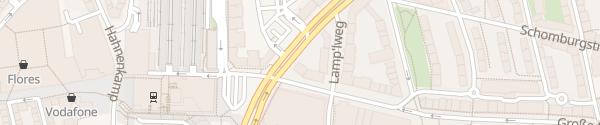 Karte Bahnhof Altona Hamburg