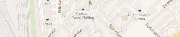 Karte Haubachstraße Hamburg