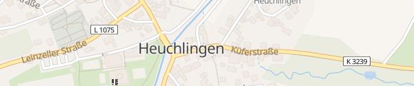 Karte Rathaus Heuchlingen
