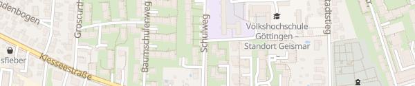 Karte Schulzentrum Geismar Göttingen