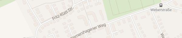 Karte Wernershagener Weg Neumünster
