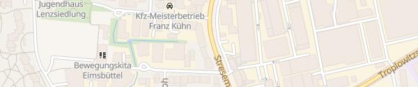 Karte Stresemannallee Hamburg