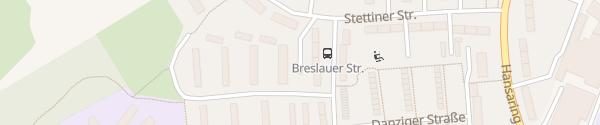 Karte Lötzener Straße Neumünster