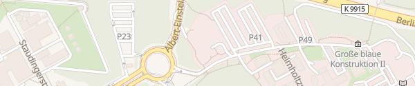 Karte PBW Ulm