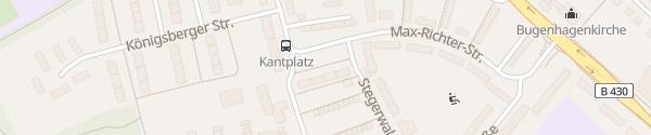 Karte Kantplatz Neumünster