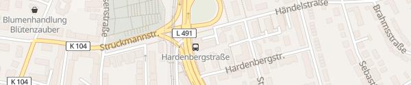 Karte Telekom Galgenberg Hildesheim