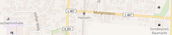 Karte Bahnhof Harsum