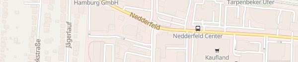 Karte Mitsubishi Autopark am Offakamp Hamburg