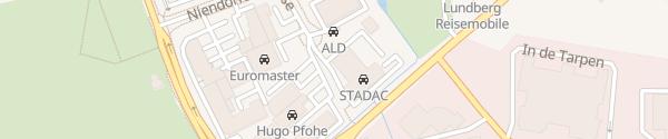 Karte BMW Autohaus STADAC Norderstedt