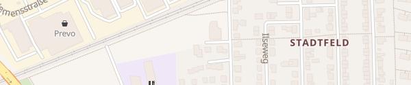 Karte Telekom Stadtfeld Hildesheim