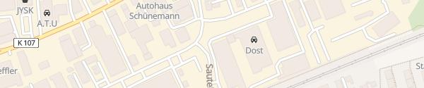 Karte Dost Automobile Hildesheim