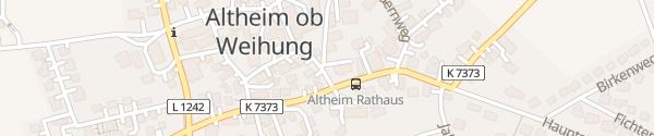 Karte swu2go Rathaus Staig