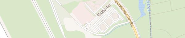 Karte Südportal Norderstedt