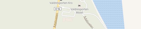 Karte Tesla Supercharger Nes i Ådal