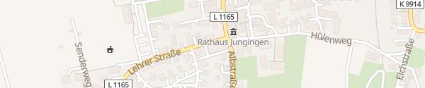 Karte SWU Ladesäule Ulm-Jungingen