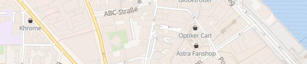Karte Parkhaus Hanse-Viertel Hamburg