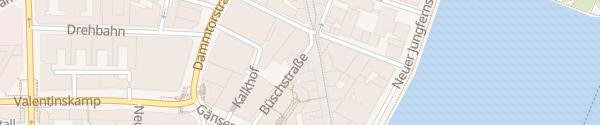 Karte Gustav-Mahler-Platz Hamburg