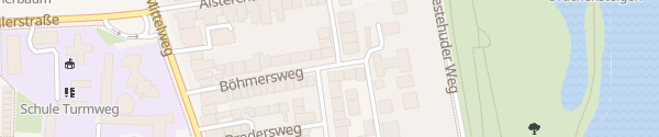 Karte Böhmersweg Hamburg