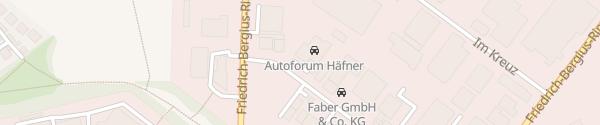Karte Autoforum Häfner Würzburg